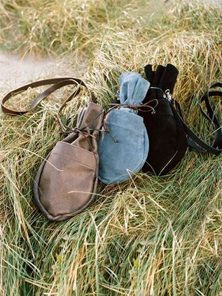 Tinder Pouch from Celtic Sheepskin