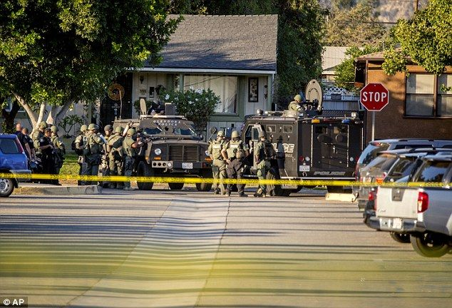 CALIFORNIA... Azusa UNNAMED gunman who killed neighbor was ex-military 'gun fanatic' who was high on cocaine | Daily Mail Online