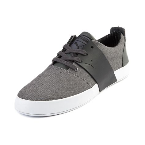 black and grey puma shoes