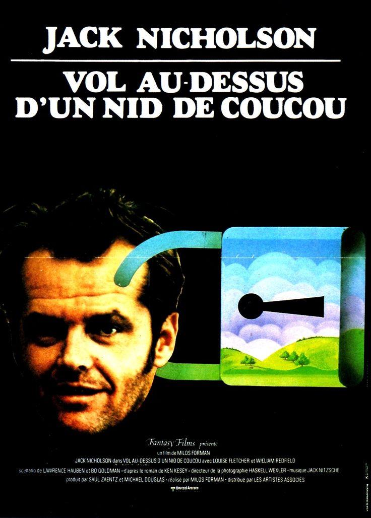1975 ‧ Drame ‧ 2h 14m de Milos Forman avec Jack Nicholson, Michael Berryman, Louise Fletcher,  Dean R. Brooks - Rebellion dans un hôpital psychiatrique à l'instigation d'un malade qui se révolte contre la dureté d'une infirmière.