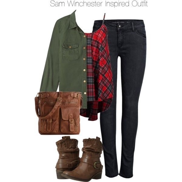 Supernatural  Sam Winchester Inspired Outfit  Wear it