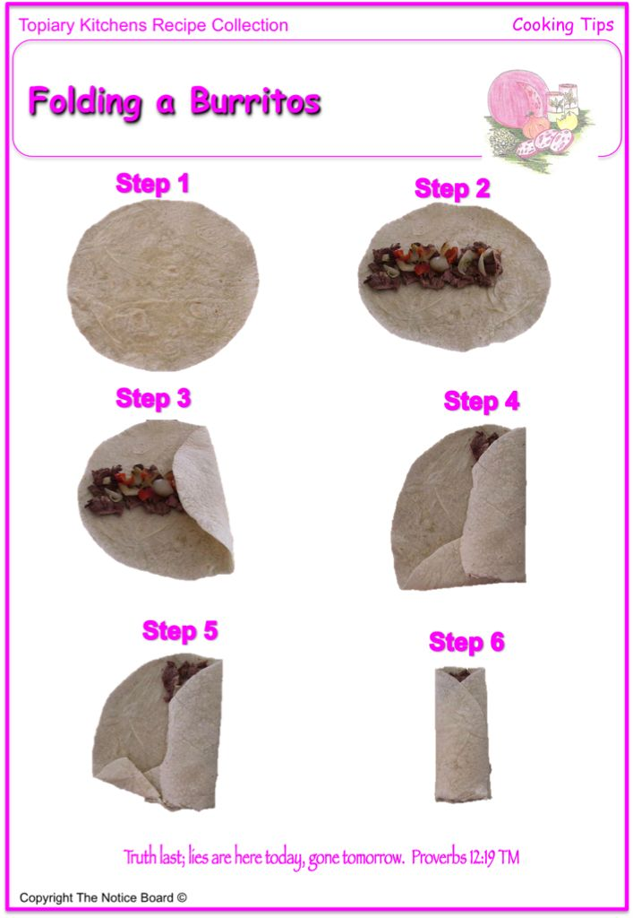 Beef And Bean Burritos Recipe Stuff And Fluff Pinterest Food