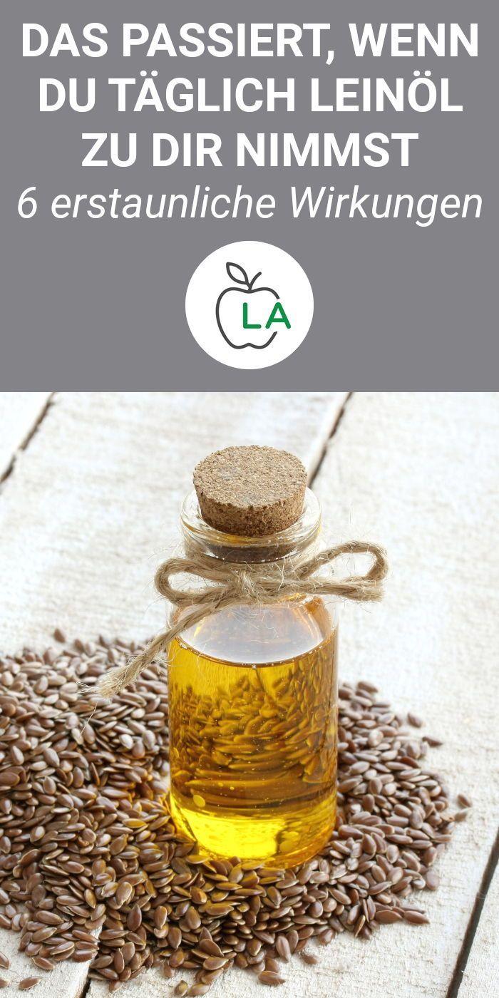 leinöl gesund abnehmen