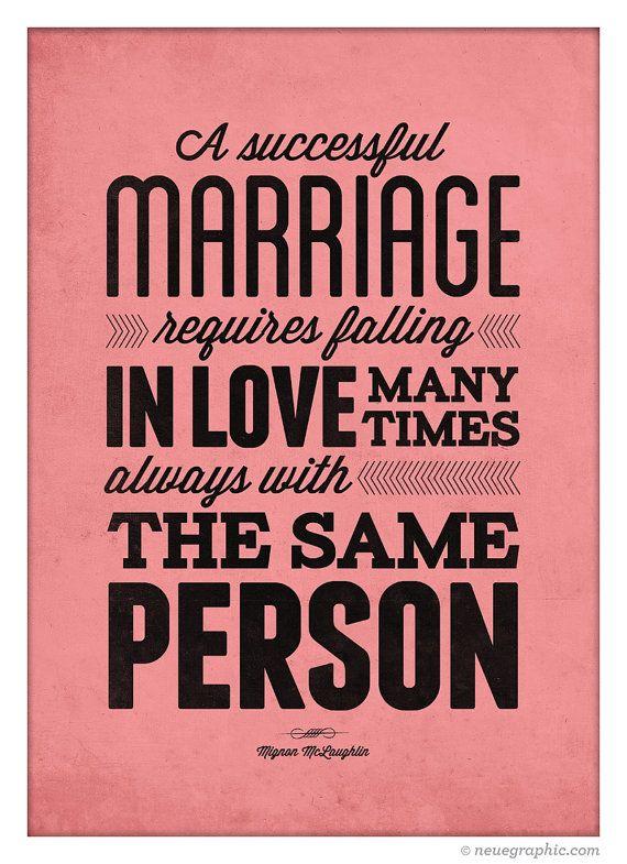 Liebe Zitat Poster Verliebtheit mit der gleichen von NeueGraphic