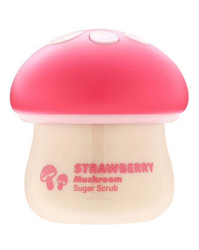 Tonymoly Strawberry Mushroom Sugar Scrub Korean Cosmetics Korean Beauty Trends Beauty Skin Care