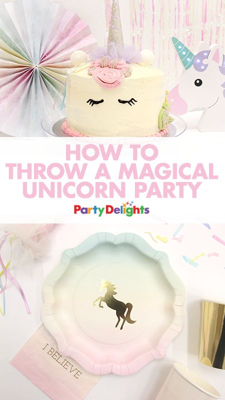 Find out how to throw a magical unicorn birthday party with our collection of unicorn party ideas. Browse unicorn party decorations, party food ideas, party game ideas and more. Perfect for a kids' birthday party - or an adult birthday!