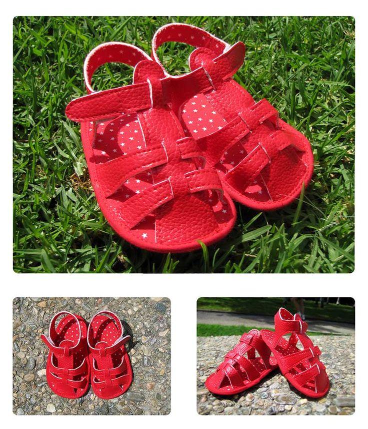 Cómo hacer unas sandalias de bebé   DIY