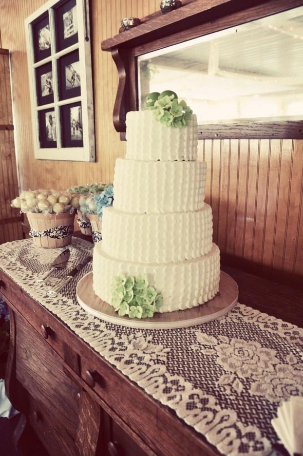 Apple Green Wedding Theme: Julie Barry