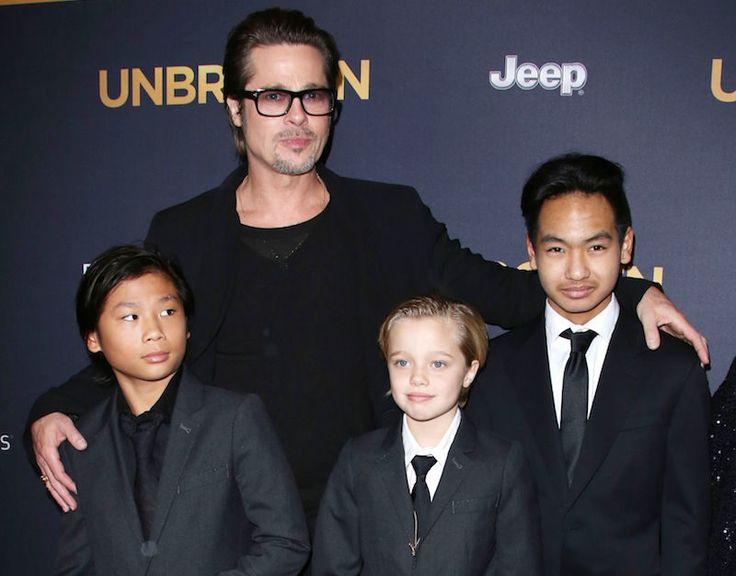 'Unbroken' film premiere, Los Angeles, America - 15 Dec 2014 | Brad Pitt Releases Heartbreaking Statement On Angelina Jolie Divorce