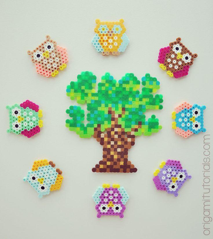 Bead Owls