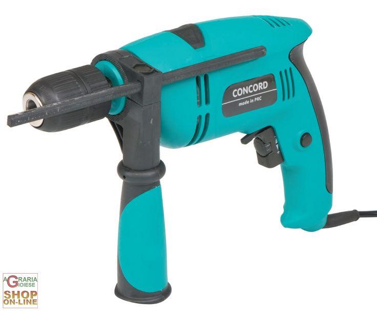 CONCORD TE 550 TRAPANO A PERCUSSIONE ELETTRICO WATT 550 https://www.chiaradecaria.it/it/concord/4539-concord-te-550-trapano-a-percussione-elettrico-watt-550-8014211568268.html