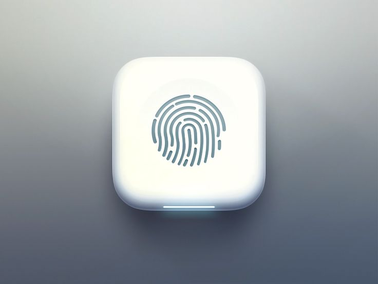 Here's an icon for a fingerprint app that, unlike Apple, scans your finger…