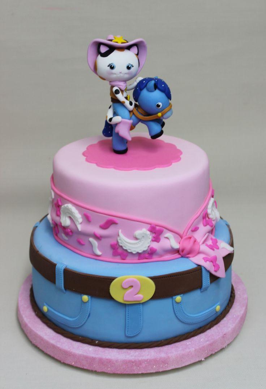 Sheriff Callie Cake By Violeta Glace Birthdays Cakes