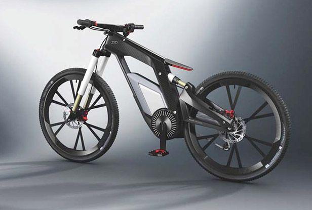 Audi Electric Bike, up to 50 mph