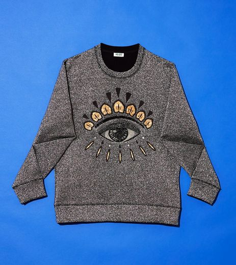 #Kenzo #Eye #Christmas #Sweat #men #fashion #style  https://www.kenzo.com/en/shop/women_101/christmas-night_1354/eye-christmas-sweat_10202/