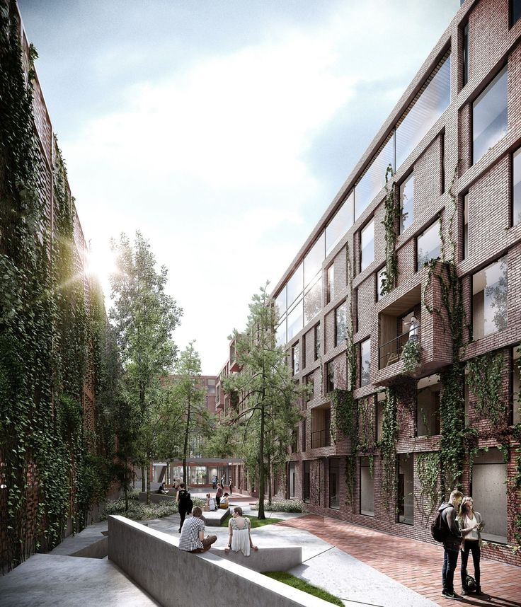 WE-Architecture . Creo . Student Housing . Sønderborg (3)                                                                                                                                                                                 Más