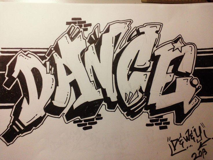 World Of Dance Font: 25+ Best Ideas About Graffiti Writing On Pinterest