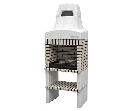 Movelar barbacoas de obra con campana nazca 70 w plus for Barbacoa leroy merlin