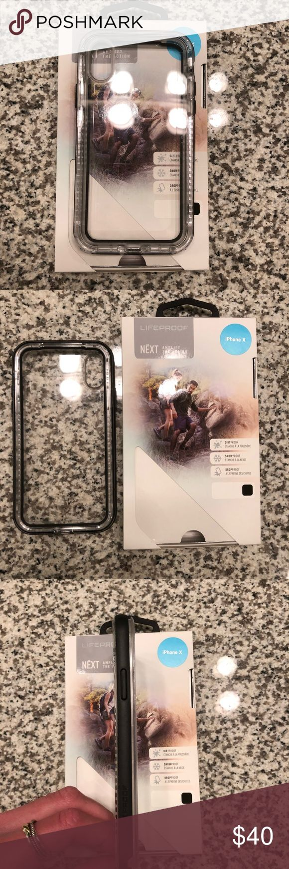 iPhone X life proof case iPhone X life proof case like brand new only worn for a few days in great condition can hardly tell signs of wear 110% authentic Accessories Phone Cases
