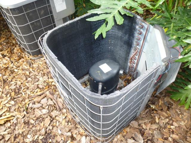 AC Fan motor stolen by technician