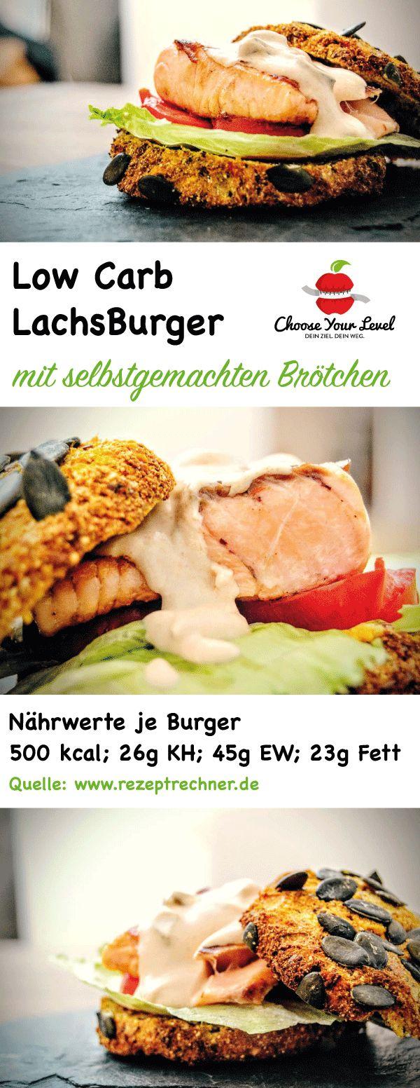 Low Carb Lachs Burger mit selbstgemachten Kürbisbrötchen , geeignet für Paleo/ Steinzeit Diät - gesunde Ernährung, glutenfrei , ohne Zusatz von Geschmacksverstärkern etc Zutaten: ca. 500g Butternutkürbis