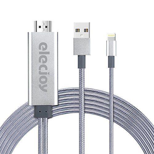 Lightning HDMI Kabel, Lightning to HDMI, 6.6 ft HDMI Kabel, 1080p HDMI Video AV Kabel Stecker Umwandlung gleichen Bildschirm Gerät HDTV Adapter für iPhone 7/6/5 Serie, Pad Air/Mini/Pro, Pod Touch (5 Generation) sieht in Design, Funktionen und Funktion gut aus. Die beste Leistung dieses Produkts ist in der Tat einfach zu reinigen und zu kontrollieren. Das Design und das Layout sind absolut erstaunlich, die es wirklich interessant und schön machen.....