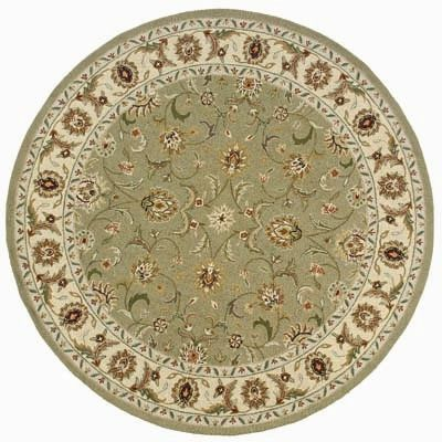 Old World Sage Oriental Round Rug - OW-11SAG-RD By Momeni Rugs
