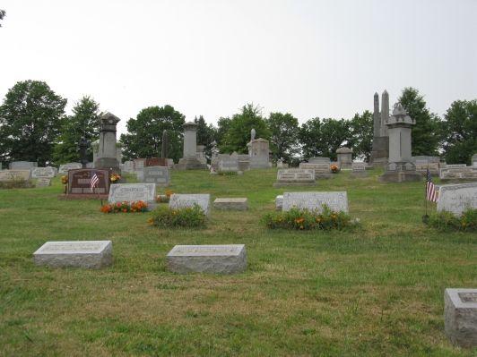 Melrose Cemetery  Bridgeville  Allegheny County  Pennsylvania  USA