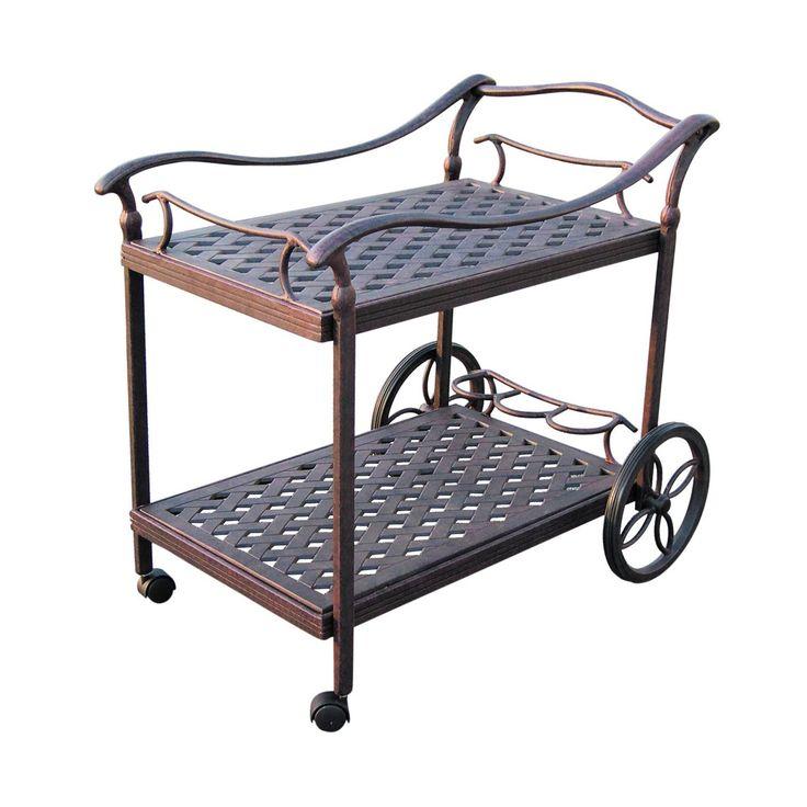 Darlee DL36-2 Outdoor Tea Cart