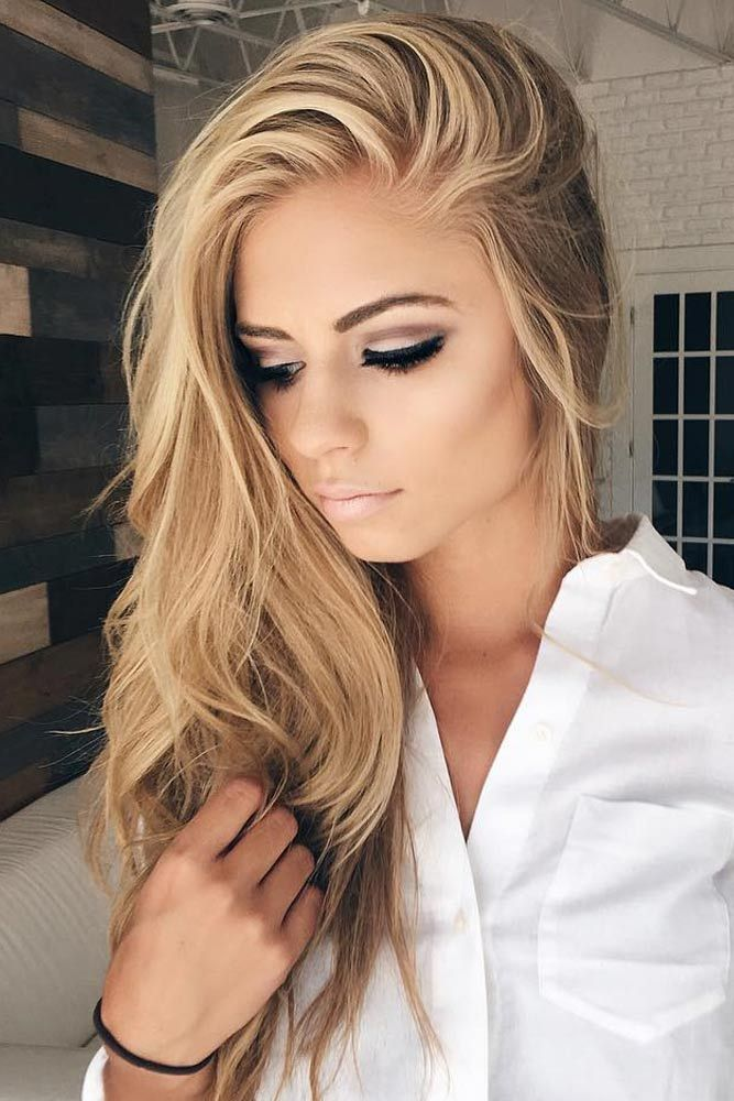 cute hairstyles straight long