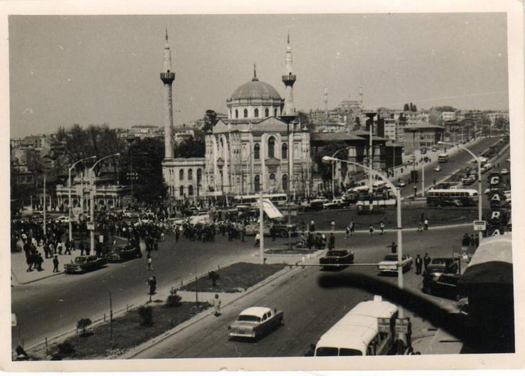 @hayalleme Aksaray Meydanı 1960'lar.