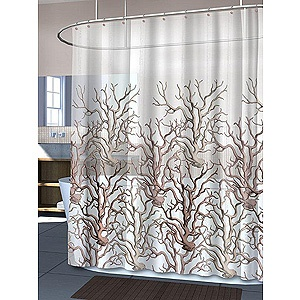 Coral coral shower curtains reef shower hydra coral coral reefs