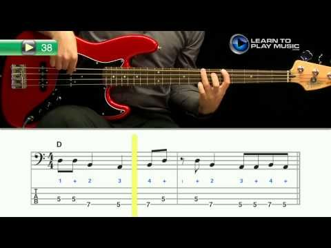 how to play bass guitar chords