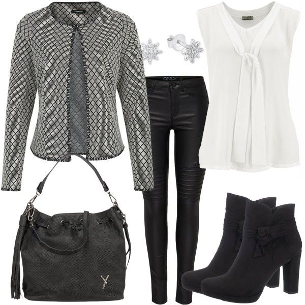 Business Outfits: Black