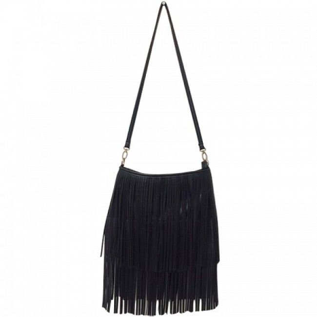 Bag Ibiza Fringes Black