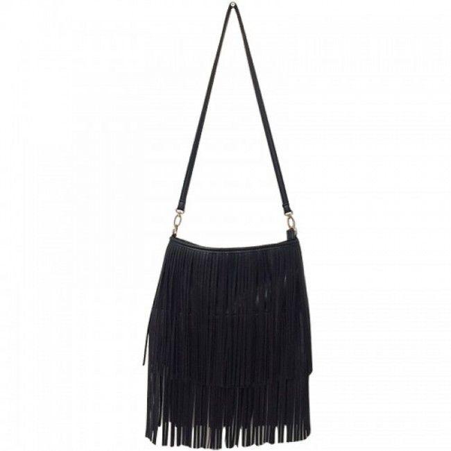 Bag Ibiza Fringes Black