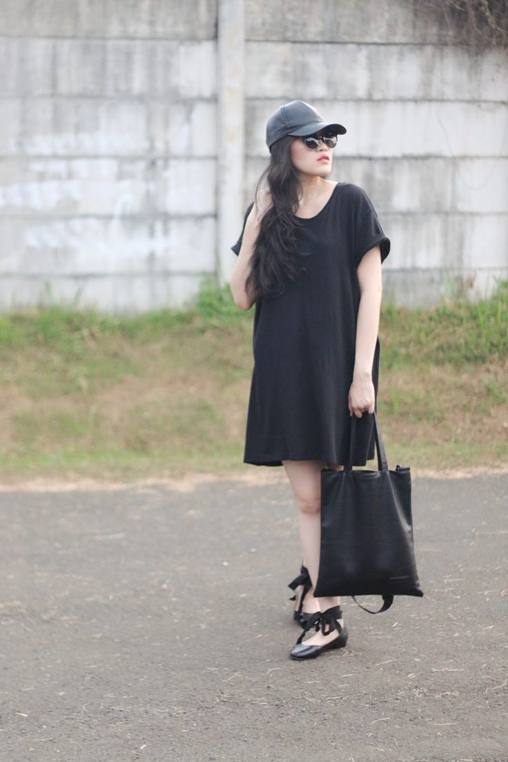 My All Black Casual Outfit – ANGELINA EVELYN