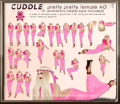 TuTy's CUDDLE Pretty pretty FREE AO (teddy bear included)