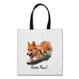 Awesome Corgi Tote Bag - http://pinterest.com/photogiftsland/personalised-shopping-bags/