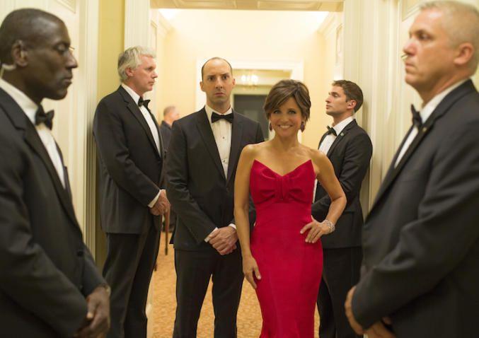 """Veep"" Season 4 Episode 2 Tony Hale & Julia Louis-Dreyfus 'East Wing'"