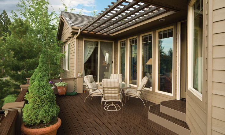 Be the envy of the neighborhood with Clubhouse Decking from Vinyl By Design.