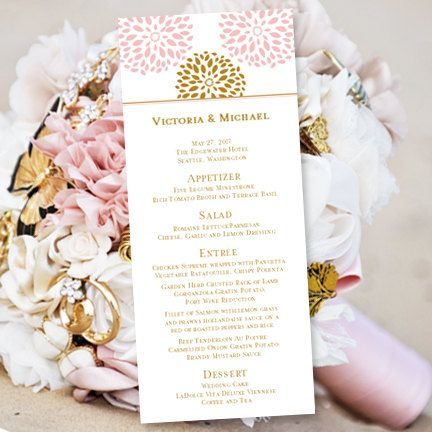 10 best Menu images on Pinterest Menu templates, Wedding menu - menu templates free microsoft