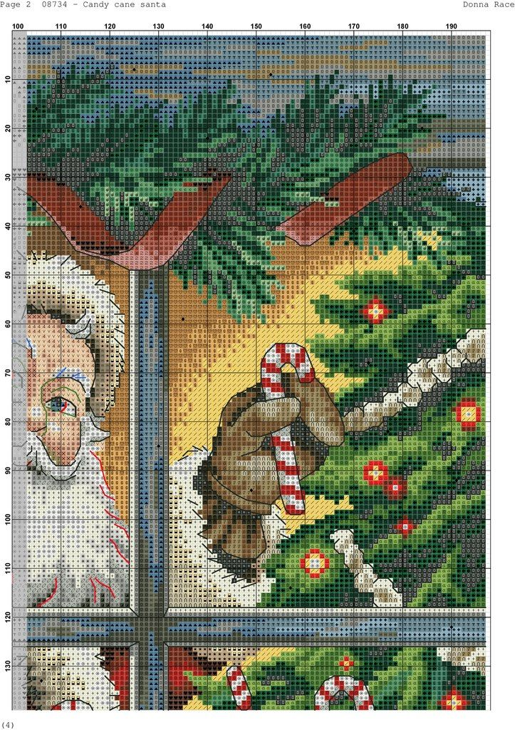 Santa is coming Home 4/6 [Pattern / Chart] [Christmas - Cross Stitch]