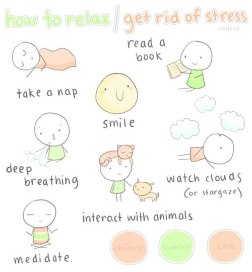 How to get rid of #stress