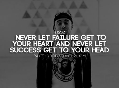 Never let success get to your head!! Listen and figure it out.