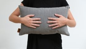 Skriver Collection - HotMadi cushion small light grey