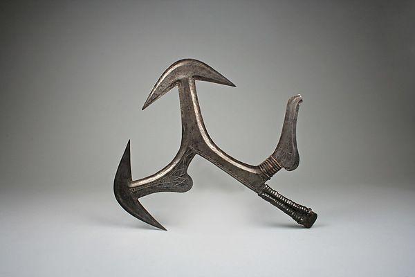 Lanzar cuchillo | pueblos Mobangi | el Met