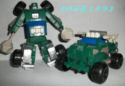 ko cartoon and movie transformers detective 12cm shock wave #transformer
