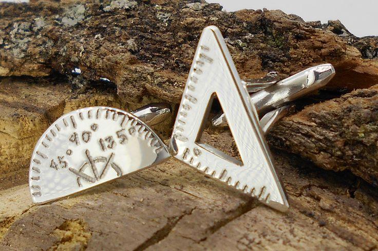 gemelos plata de ley artesanales y personalizados www.eltallerdediego.com