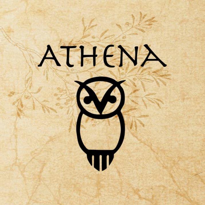 The Olympians And Hades Athena Goddess Greek God Tattoo